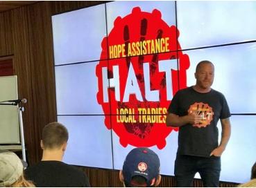 HALT: Hope Assistance Local Tradies