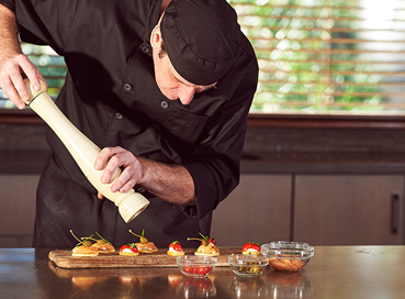 Career path in focus: from dishwasher to the executive chef